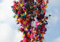 A legmagasabb szerelmi zálog, a májusfa?