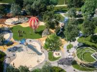 Hamarosan kész Magyarország legnagyobb és legkorszerűbb játszótere