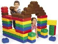 Bérelhető ÓRIÁS ÉPÍTŐKOCKA szülinapra, gyerekprogramokra (mint a LEGO, csak JÓVAL NAGYOBB!)