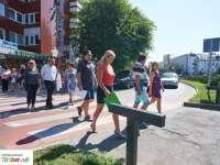 Helyi hírek  Átadták a legújabb SafeCross okos zebrát Nyíregyházán a belváros egy forgalmas pontján